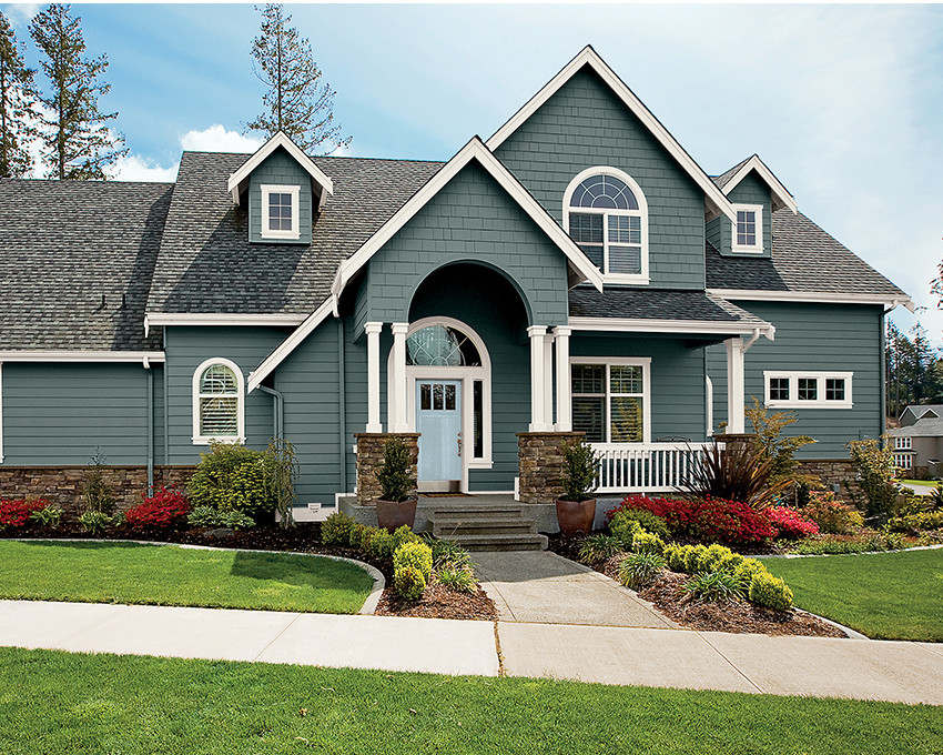 Best ideas about Exterior House Paint Colors Photo Gallery . Save or Pin Exceptional Exterior Stucco 7 Stucco Exterior House Paint Now.