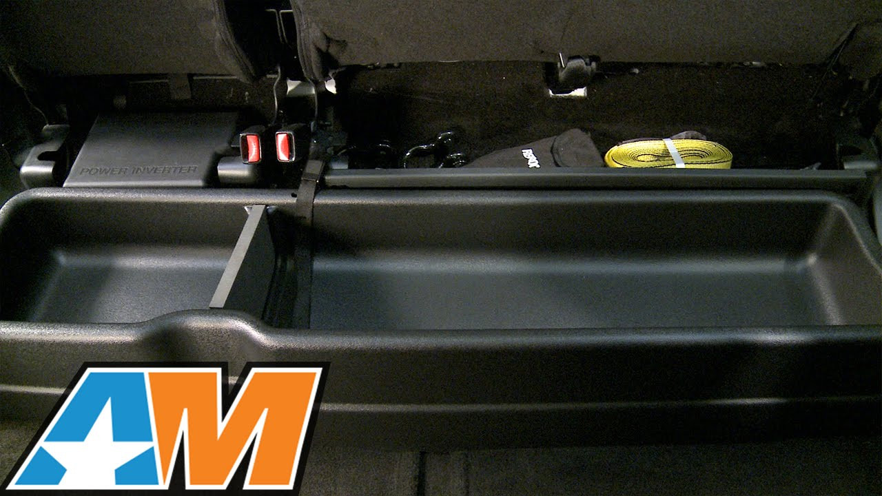 Best ideas about F150 Under Seat Storage DIY . Save or Pin 2015 2016 F 150 Husky Gearbox Under Seat Storage Box Now.