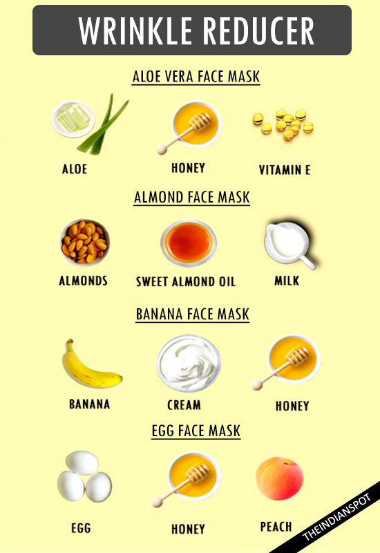 Best ideas about Face Mask DIY . Save or Pin REDUCE WRINKLES WITH HOMEMADE MOISTURIZING FACE MASKS Now.