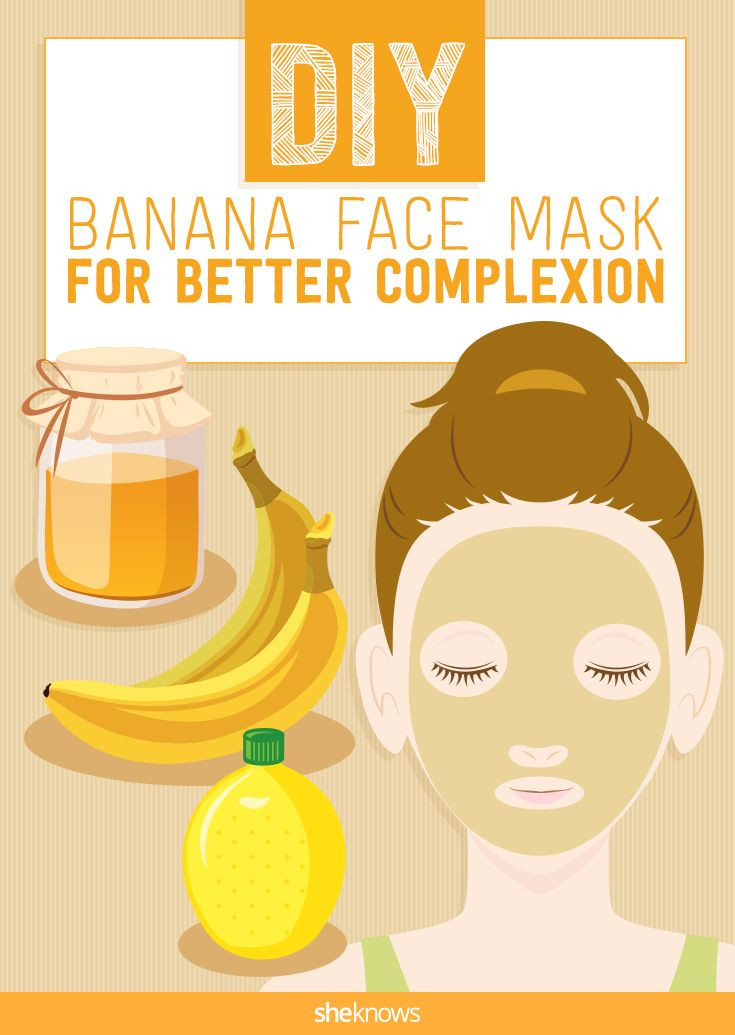 Best ideas about Face Mask DIY . Save or Pin Nourish tired skin with this homemade banana face mask Now.