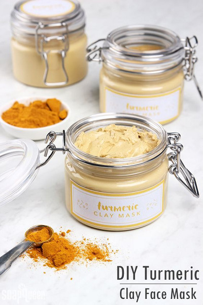 Best ideas about Face Masks DIY . Save or Pin DIY Turmeric Clay Face Mask DIY Stocking Stuffers Your Now.