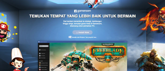 Best ideas about Facebook Game Room Download Pc . Save or Pin Suka Game Kamu Harus Download Gameroom Now.