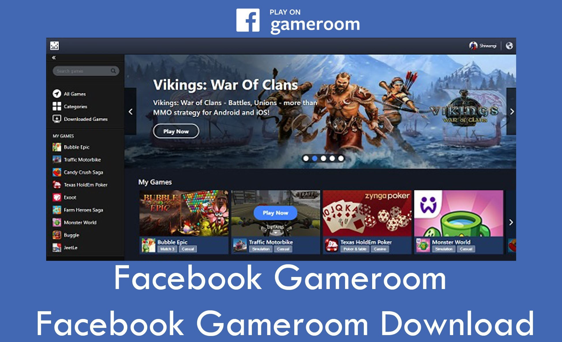 Best ideas about Facebook Game Room Download Pc . Save or Pin Gameroom – Gameroom Download TecVase Now.