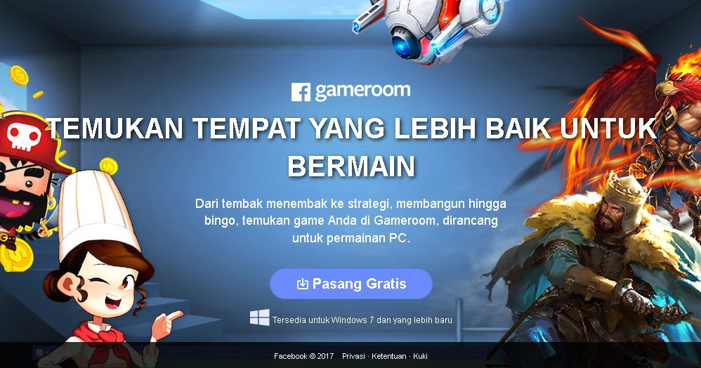 Best ideas about Facebook Game Room Download Pc . Save or Pin Download Gameroom For PC Softnet27 Indonesia Now.
