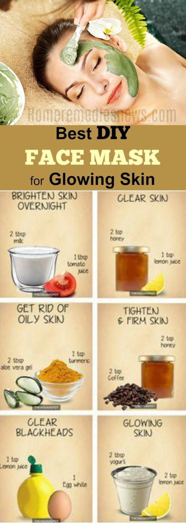Best ideas about Facial Mask DIY . Save or Pin Best 25 Homemade face masks ideas on Pinterest Now.