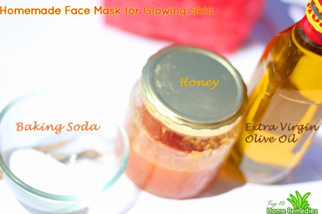 Best ideas about Facial Mask DIY . Save or Pin DIY Homemade Face Mask for Glowing Skin Now.