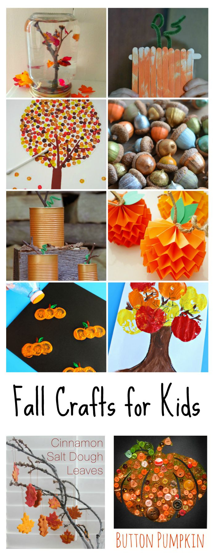 Best ideas about Fall Crafts Ideas For Kids . Save or Pin Fall Crafts for Kids The Idea Room Now.