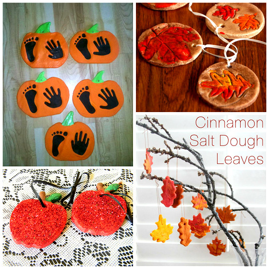 Best ideas about Fall Crafts Ideas For Kids . Save or Pin Fall Salt Dough Ornaments & Craft Ideas Crafty Morning Now.