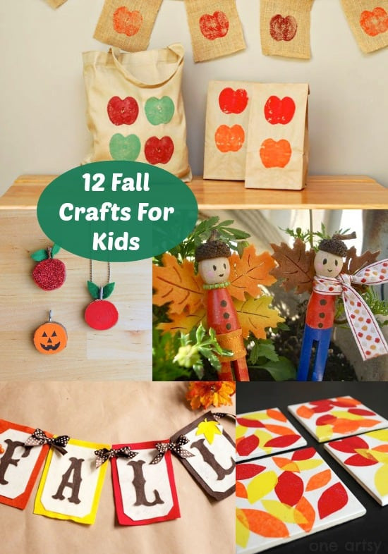 Best ideas about Fall Crafts Ideas For Kids . Save or Pin 12 Fun Fall Crafts For Kids diycandy Now.