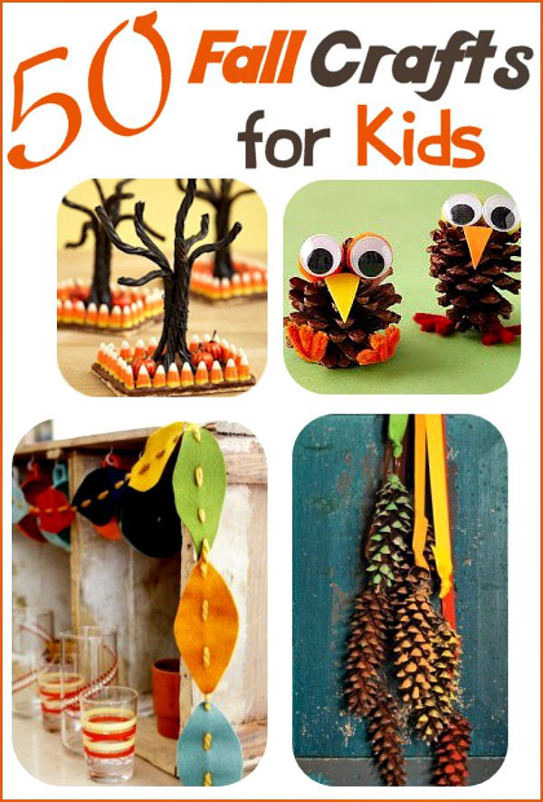 Best ideas about Fall Crafts Ideas For Kids . Save or Pin Fall Crafts for Kids 50 Ideas Your Family Will Love Now.