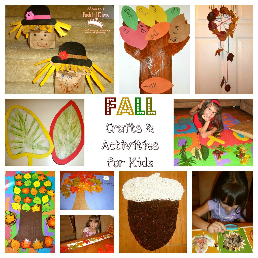 Best ideas about Fall Crafts Ideas For Kids . Save or Pin How about sharing some fall books with your kids and or Now.