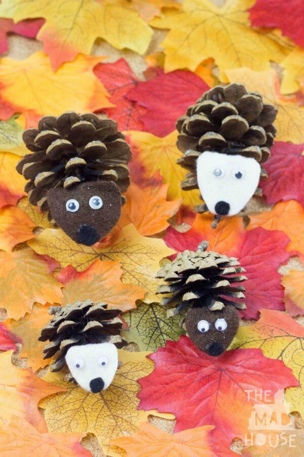 Best ideas about Fall Crafts Ideas For Kids . Save or Pin Easy Fall Kids Crafts That Anyone Can Make Happiness is Now.