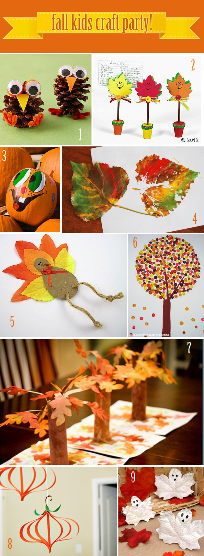 Best ideas about Fall Crafts Ideas For Kids . Save or Pin 9 Fall Craft Ideas For Kids Now.