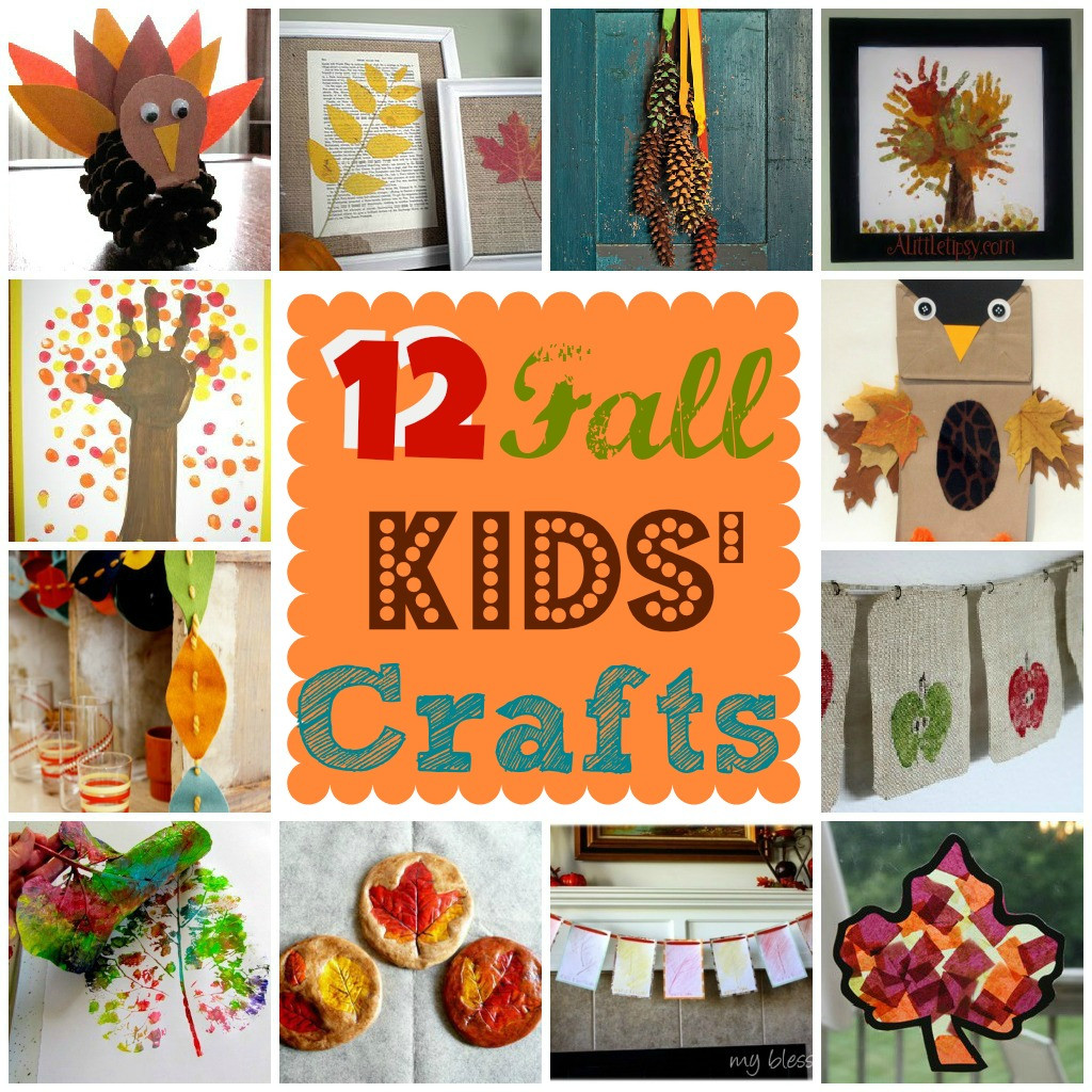 Best ideas about Fall Crafts Ideas For Kids . Save or Pin 12 Fall Kids Crafts Now.
