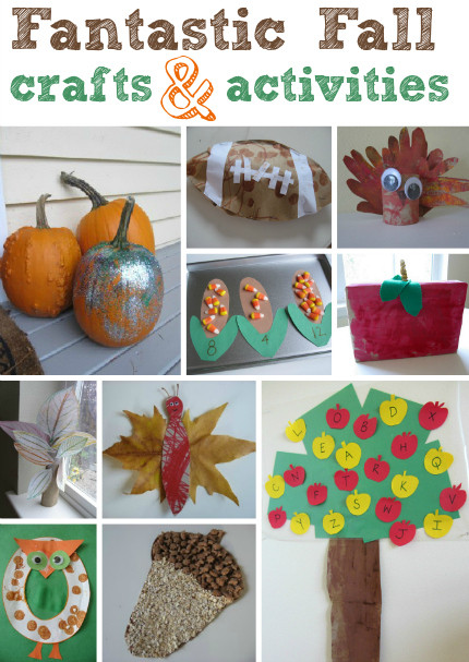Best ideas about Fall Crafts Ideas For Kids . Save or Pin Fall Crafts For Kids Now.
