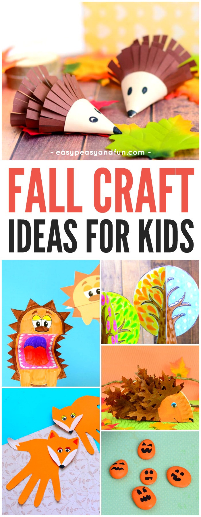 Best ideas about Fall Crafts Ideas For Kids . Save or Pin Fall Crafts For Kids Art and Craft Ideas Easy Peasy Now.