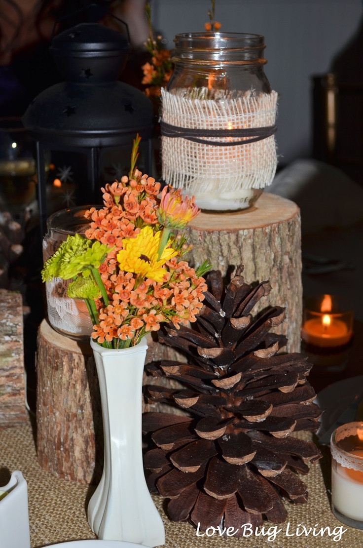 Best ideas about Fall Wedding Centerpieces DIY . Save or Pin 25 best ideas about Burlap wedding centerpieces on Now.