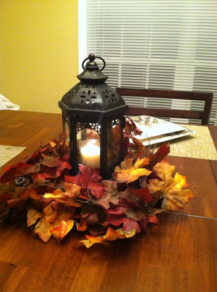 Best ideas about Fall Wedding Centerpieces DIY . Save or Pin 17 Best ideas about Fall Lantern Centerpieces on Pinterest Now.