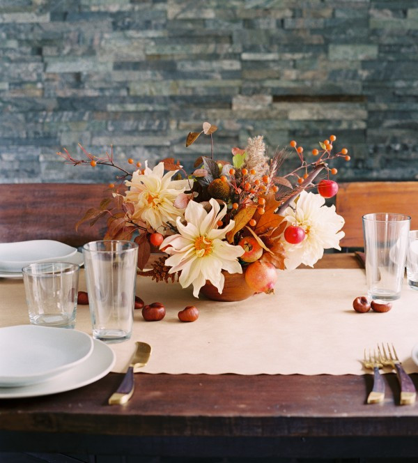 Best ideas about Fall Wedding Centerpieces DIY . Save or Pin Casual Fall Wedding Floral Centerpiece ce Wed Now.