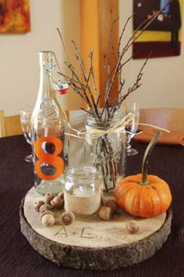 Best ideas about Fall Wedding Centerpieces DIY . Save or Pin Autumn Wedding Wedding Seasons Autumn Now.