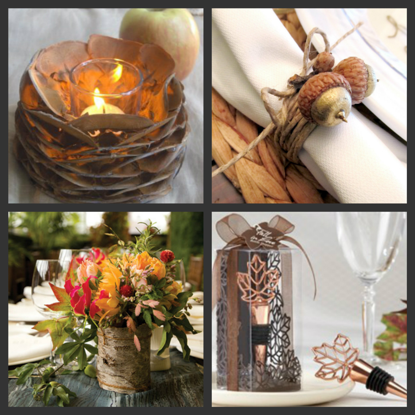 Best ideas about Fall Wedding Centerpieces DIY . Save or Pin Weddings Are Fun Blog DIY Autumn Wedding Tables Now.