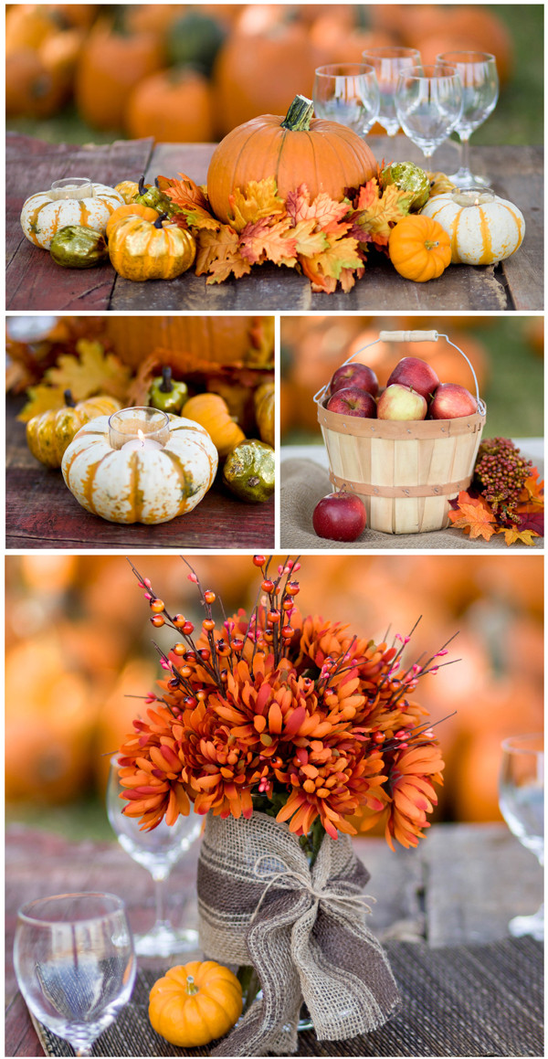 Best ideas about Fall Wedding Centerpieces DIY . Save or Pin Bargain Challenge Fall Centerpiece Ideas Under $15 Now.