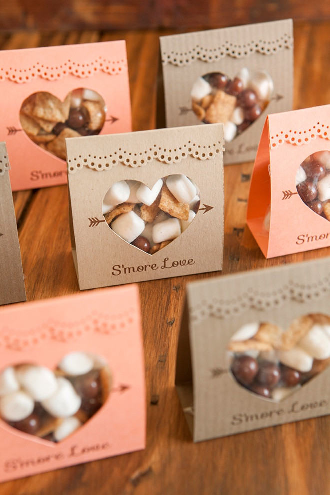 Best ideas about Fall Wedding Favors DIY . Save or Pin How to make these adorable S more Love wedding favors Now.