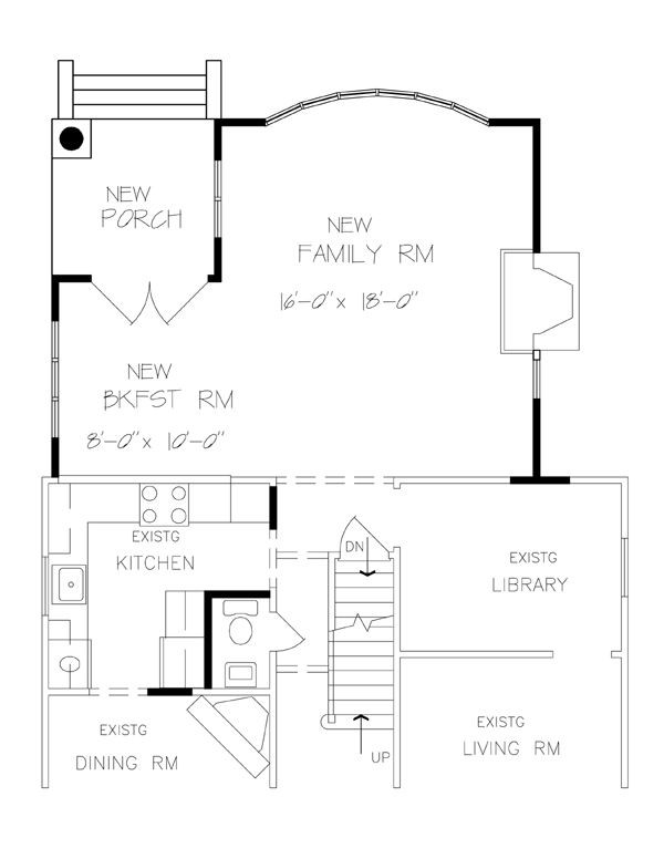 Best ideas about Family Room Addition Floor Plans . Save or Pin one room home addition plans Now.