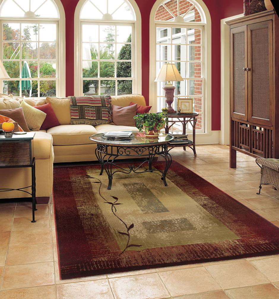 Best ideas about Family Room Area Rugs . Save or Pin Tips to Place Rugs for Living Room Now.