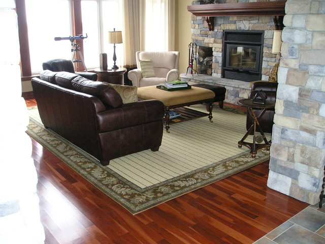 Best ideas about Family Room Area Rugs . Save or Pin Wool Area rug Contemporary Living Room ottawa by Now.