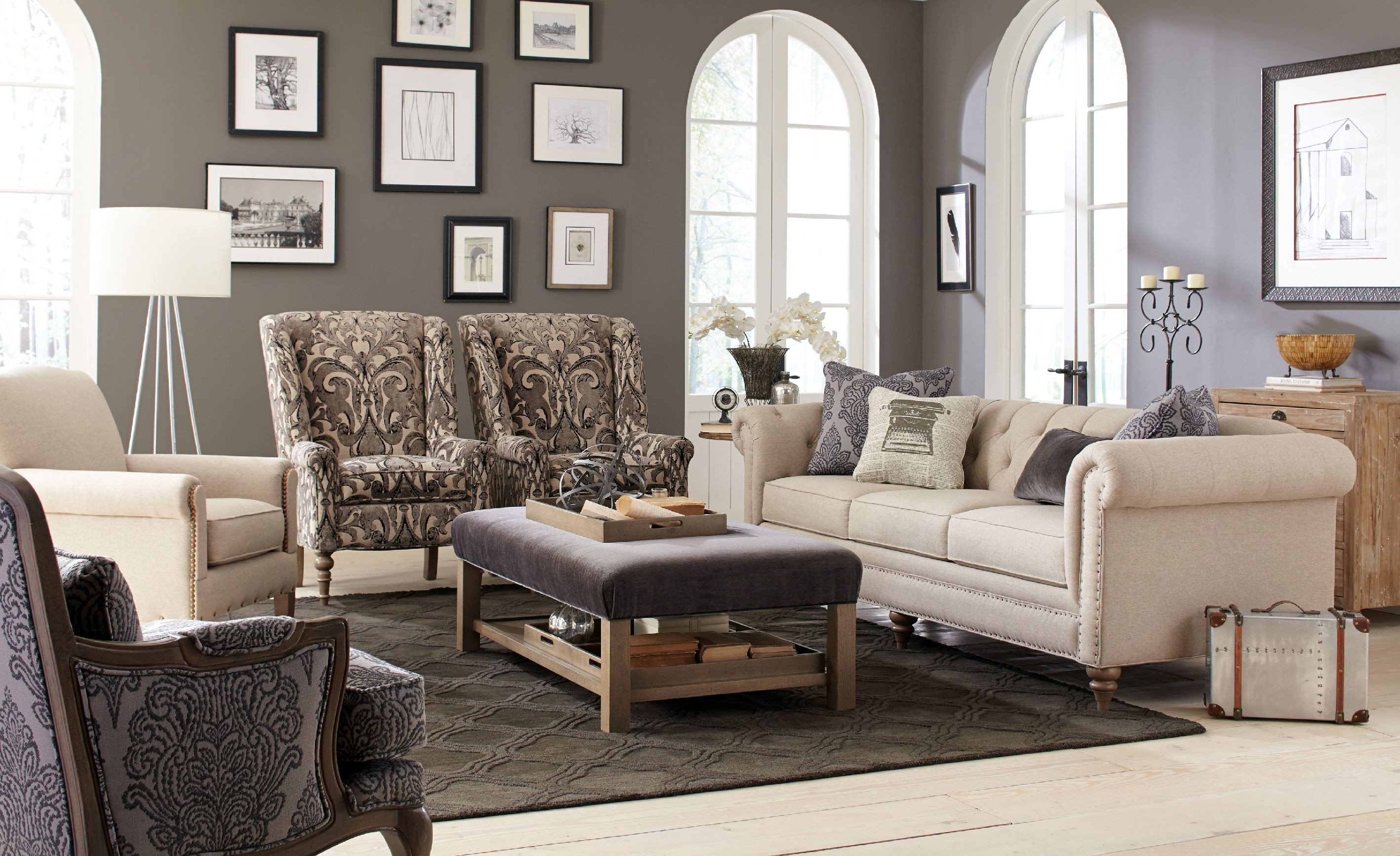 Best ideas about Family Room Couches . Save or Pin Craftmaster Living Room Sofa CraftMaster Now.