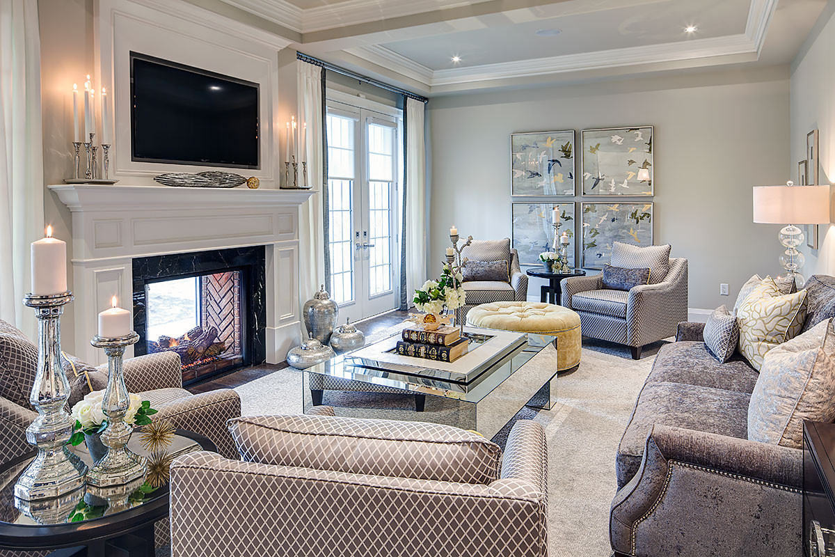 Best ideas about Family Room Design . Save or Pin Living Rooms & Family Rooms Now.