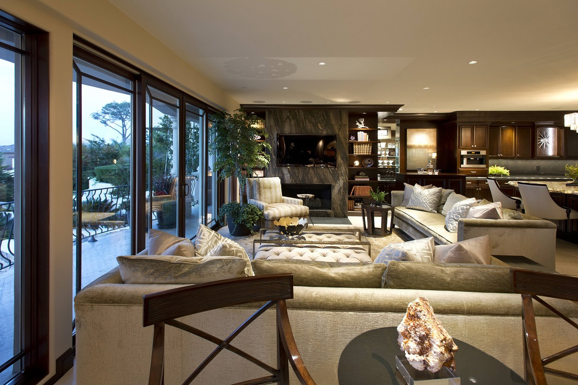 Best ideas about Family Room Design . Save or Pin La Jolla Luxury Family Room Robeson Design Now.