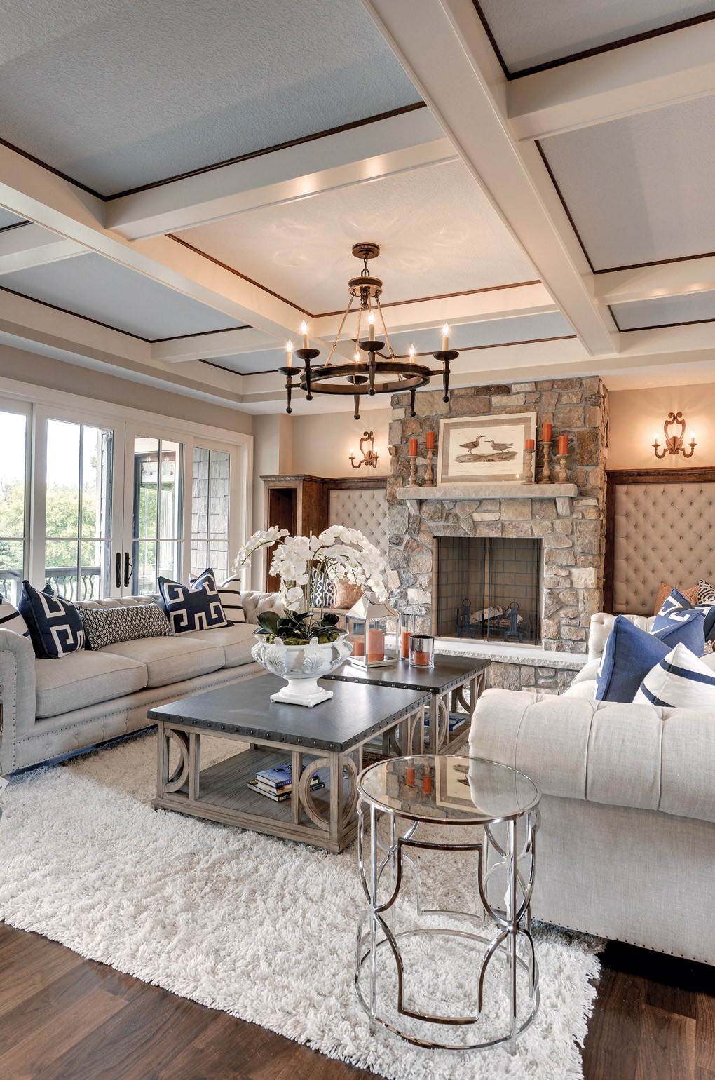 Best ideas about Family Room Design . Save or Pin 16 Chic Details for Cozy Rustic Living Room Decor Style Now.
