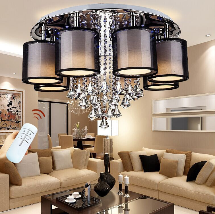 Best ideas about Family Room Lighting Fixtures . Save or Pin 2018 surface mounted modern led ceiling lights for living Now.