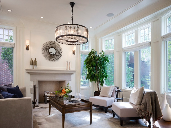 Best ideas about Family Room Lighting Fixtures . Save or Pin 17 Sunroom Lighting Designs Ideas Now.