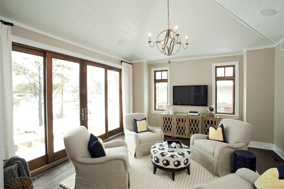 Best ideas about Family Room Lighting Fixtures . Save or Pin sphere light fixture Family Room Transitional with Now.
