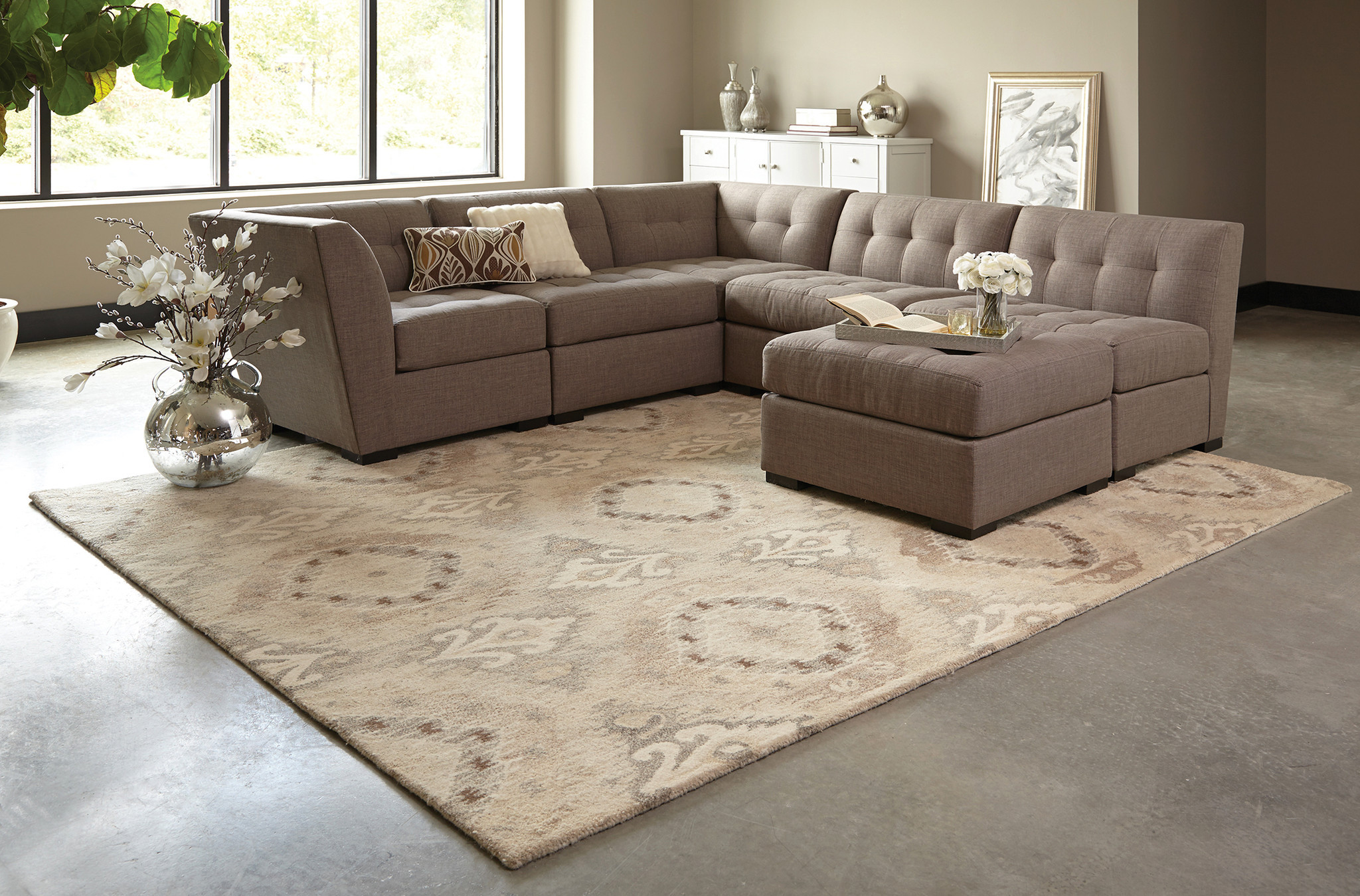 Best ideas about Family Room Rugs . Save or Pin Best area Rugs for Living Room 50 s Now.