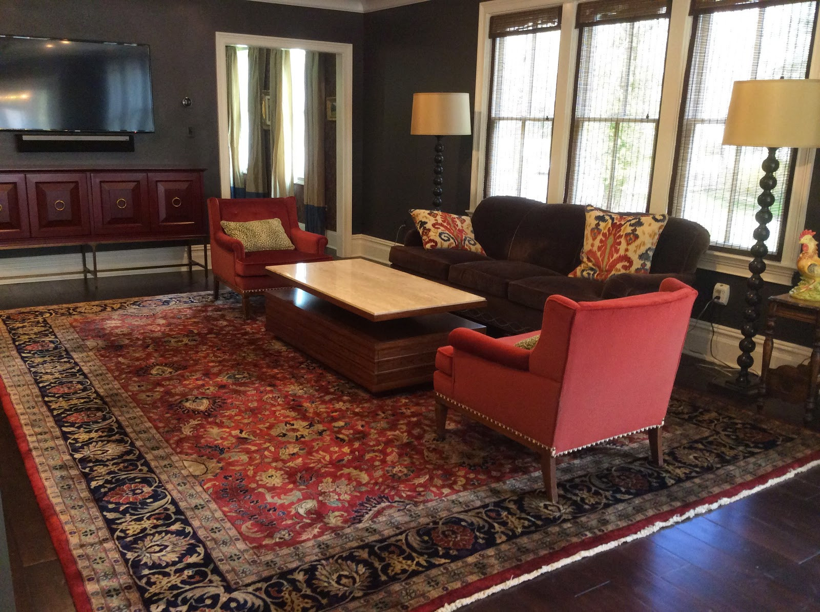 Best ideas about Family Room Rugs . Save or Pin Brandon Oriental Rugs Home Renovation in Princeton NJ Now.