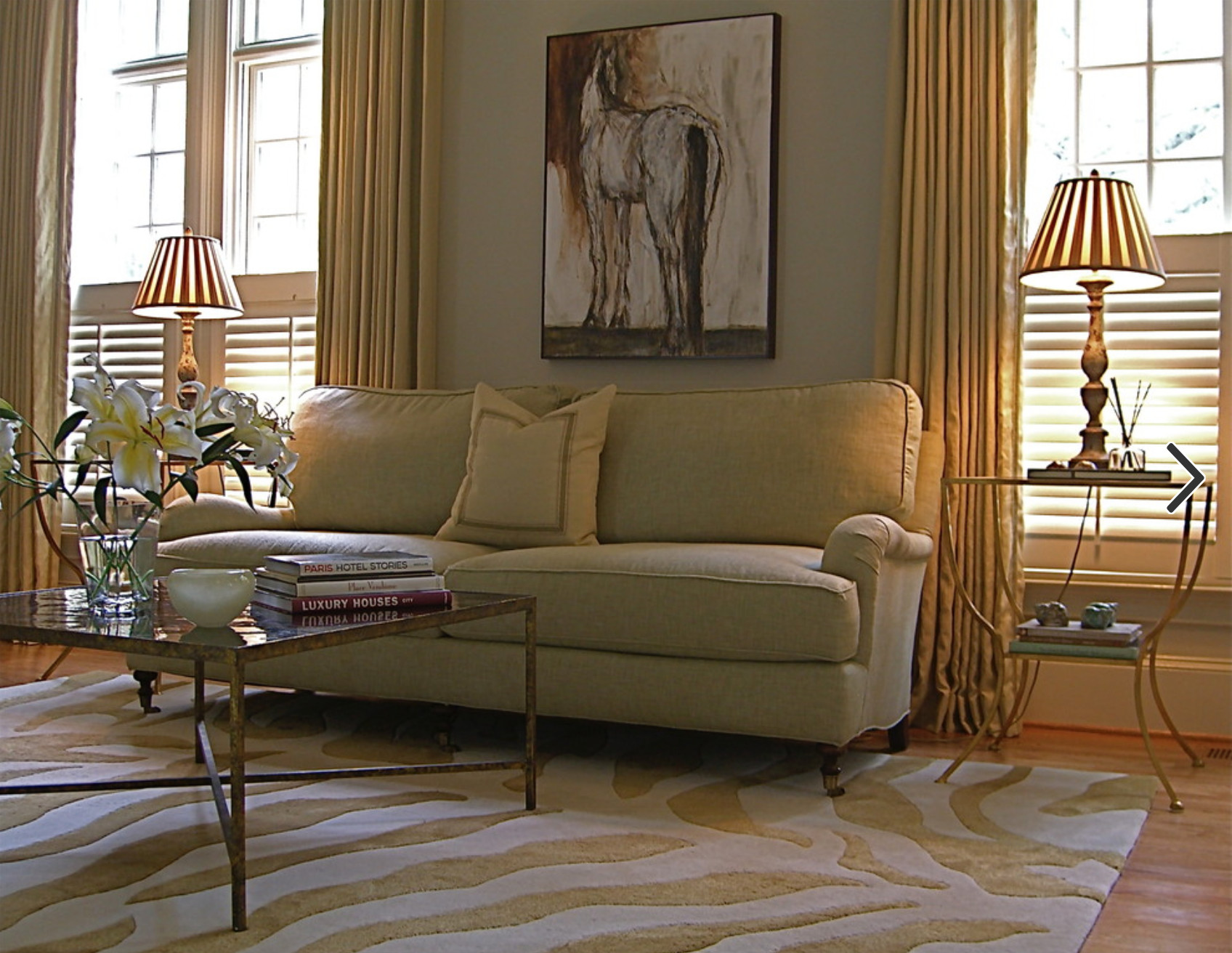 Best ideas about Family Room Rugs . Save or Pin 7 Area Rug Rules & How to Bend Them Dover RugDover Rug Now.