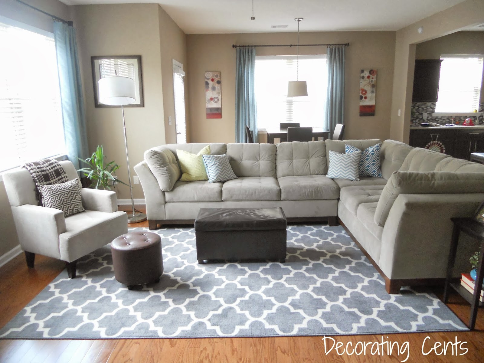 Best ideas about Family Room Rugs . Save or Pin Decorating Cents New Family Room Rug Now.