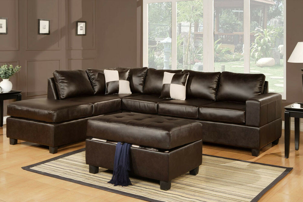 Best ideas about Family Room Sectionals . Save or Pin Sectional sofa with free storage ottoman eBay sofa Now.