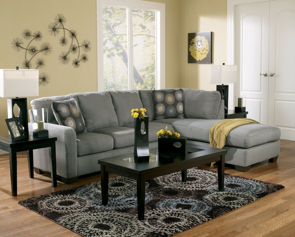 Best ideas about Family Room Sectionals . Save or Pin CONTEMPORARY CHARCOAL SECTIONAL MODERN COUCH LIVING ROOM Now.