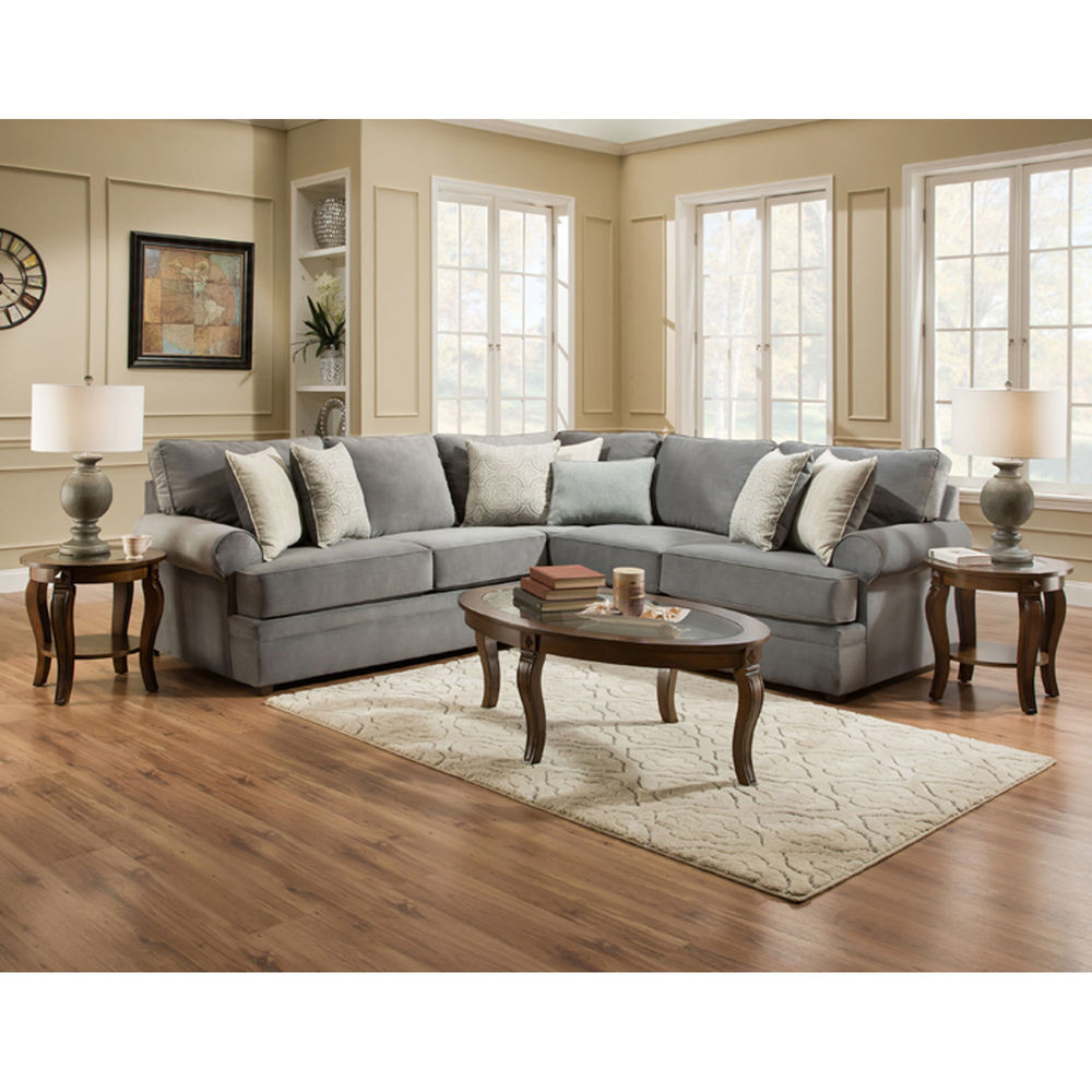 Best ideas about Family Room Sectionals . Save or Pin United Sectionals 2 Piece Naeva Living Room Collection Now.