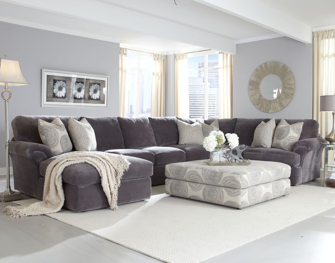 Best ideas about Family Room Sectionals . Save or Pin Modern Living Room Style with Affordable Sectional Couch Now.