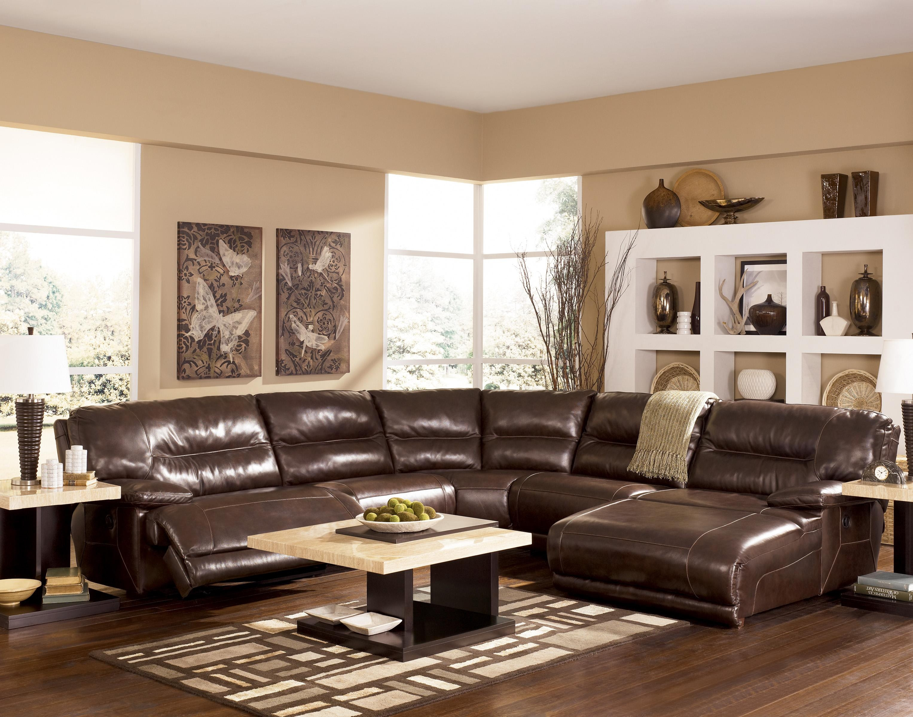 Best ideas about Family Room Sectionals . Save or Pin 20 Top Ashley Furniture Leather Sectional Sofas Now.