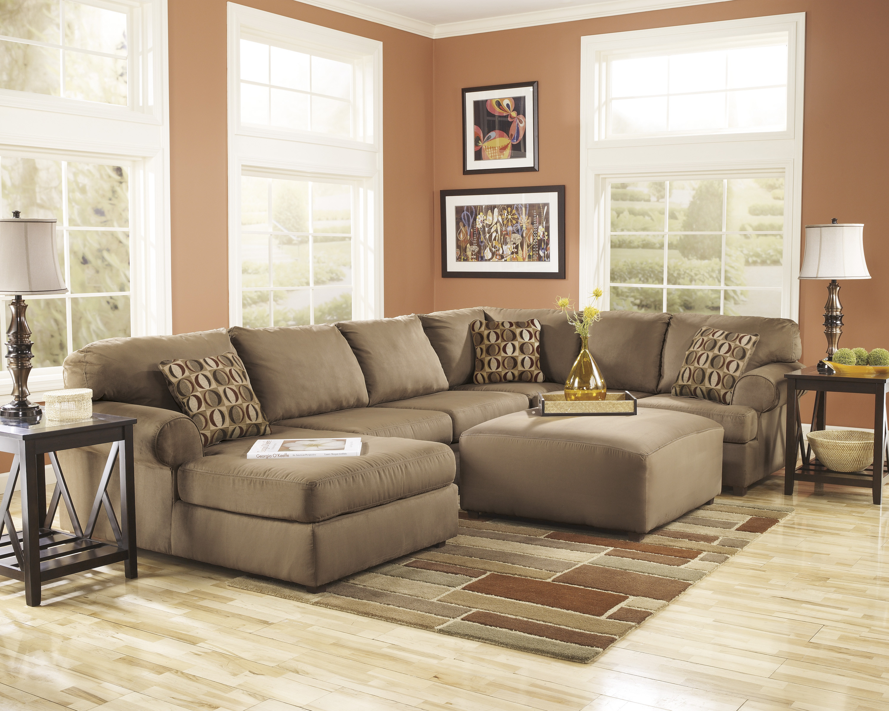 Best ideas about Family Room Sectionals . Save or Pin Cheap Ashley Furniture Living Room Sets Glendale CA A Now.