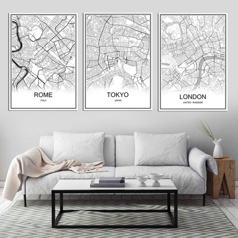 Best ideas about Family Room Wall Decorations . Save or Pin Living Room Wall Decor 10 Vintage Lifestyle Posters Now.