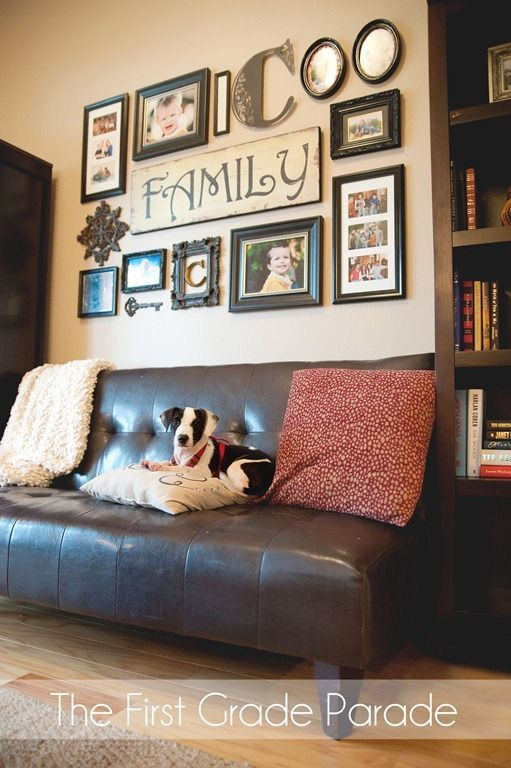 Best ideas about Family Room Wall Decorations . Save or Pin wall i love this I already bought the Family wall Now.