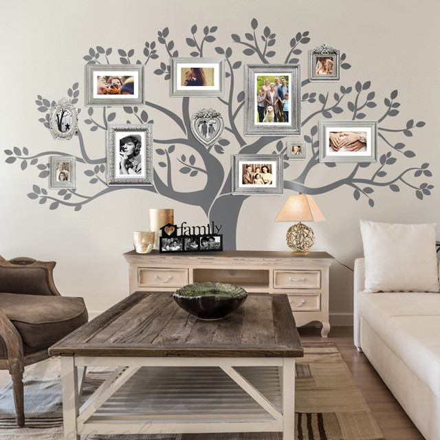 Best ideas about Family Room Wall Decorations . Save or Pin Rustic Living Room Family Tree Wall Decor Rustic Now.